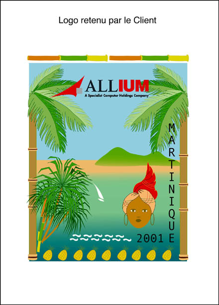 Logo Allium Client Martinique